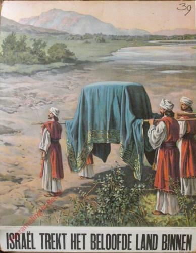 Isra�l trekt het beloofde land binnen�(Jozua 3)