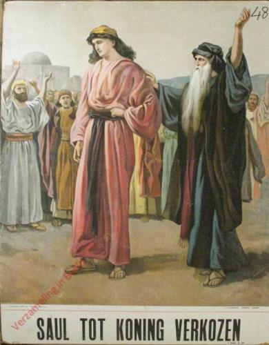 Saul tot koning verkozen (Samu�l 9, 10)