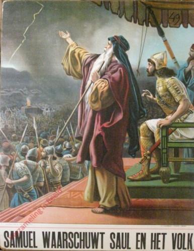 Samu�l waarschuwt Saul en het volk (1. Samu�l 13)