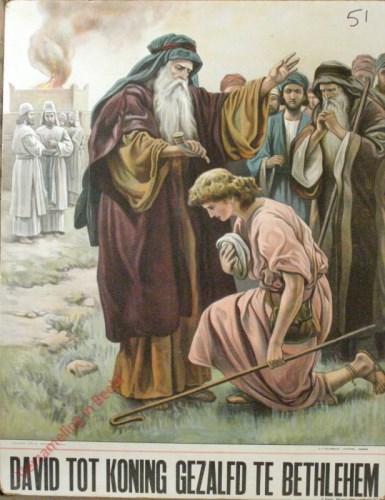 David tot koning gezalfd te Bethlehem (Samu�l 16: 1 - 13)