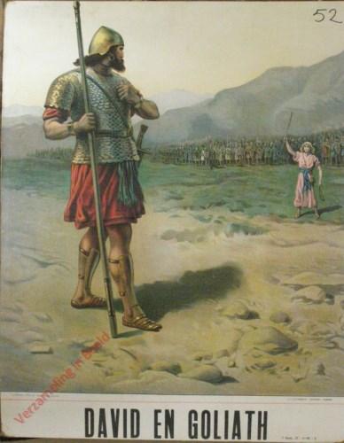 David en Goliath (Samu�l 17: 1 - 18 ; 5). En God zullen wij kloeke daden doen