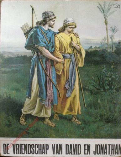 De vriendschap van David en Jonathan (Samu�l 20)