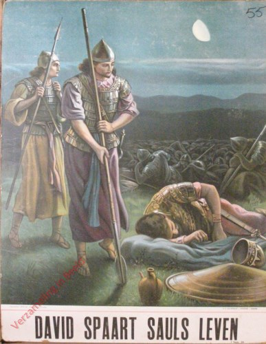 Samu�l spaart Saul's leven (Samu�l 26)