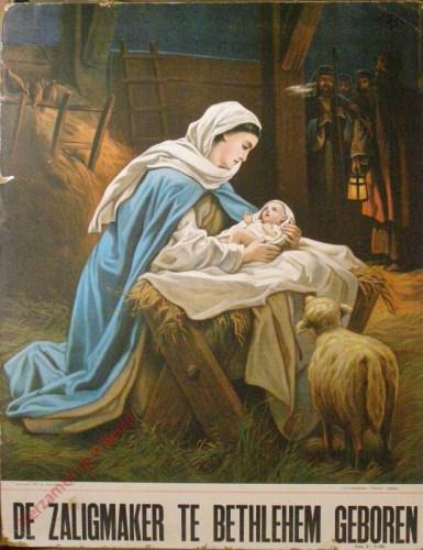 De zaligmaker te Bethlehem geboren (Lucas 2 : 1 - 20)