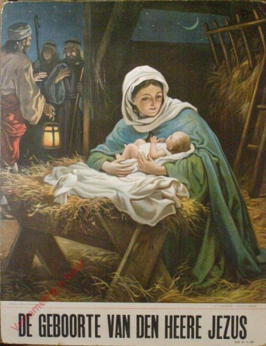 De geboorte van den heere Jezus (Lucas 2 : 1 - 20)