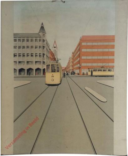Middenstuk [Moderner, T-splitsing met tram]