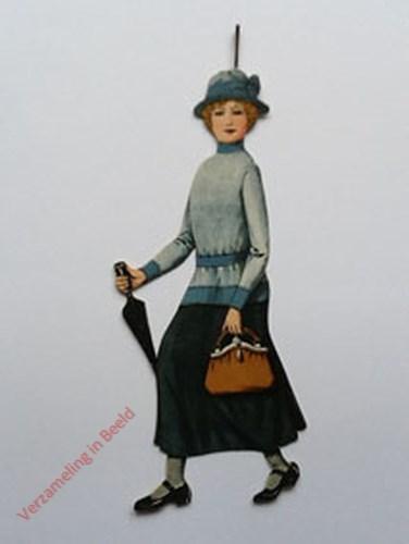 3 - [Vrouw lopend, zijkant]