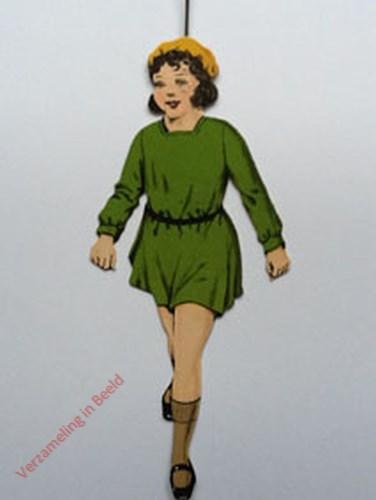 7 - [Meisje lopend groen. voorkant]