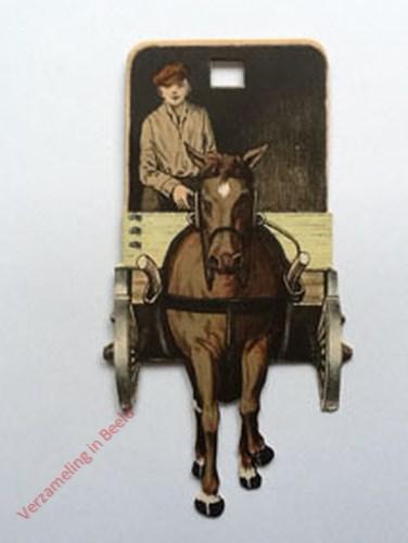 13 - [Paard met wagen, voorkant]
