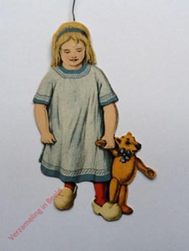 14 - [Klein meisje met pop, voorkant]