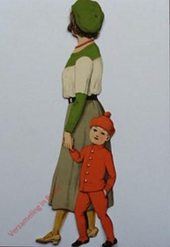 21A - [Vrouw met kind, zijkant naar links]