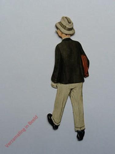 24 - [Mannetje lopend, achterkant naar links]