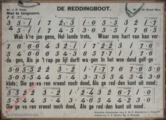 De reddingboot