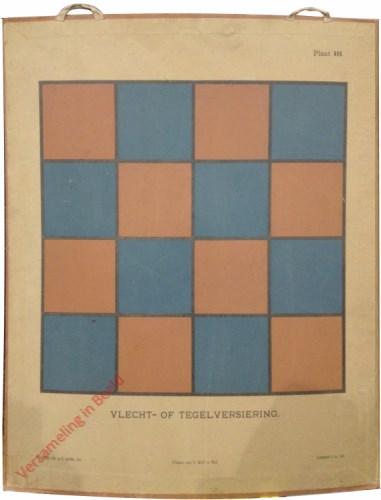 1e druk: No. III - Vlecht of tegelversiering