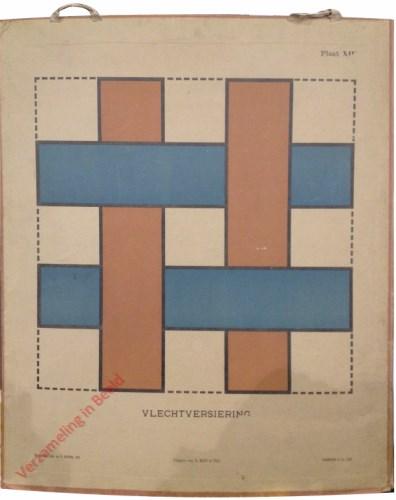 1e druk: No. XIII - Vlechtversiering