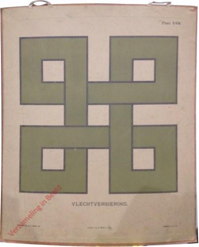1e druk: No. XVII - Vlechtversiering