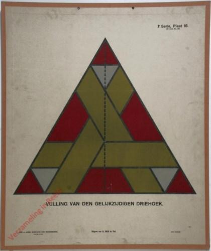 Vulling van den gelijkzijdigen driehoek