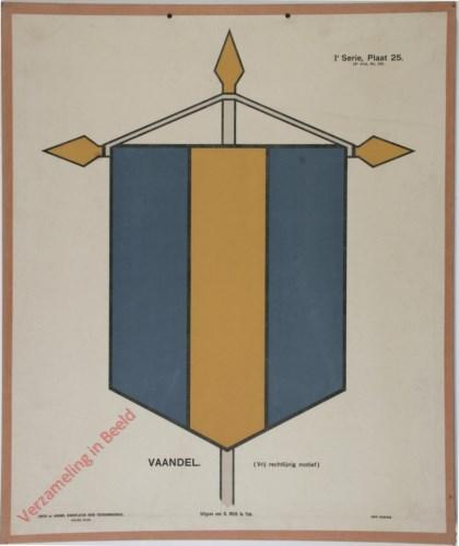 Vaandel (Vrij rechtlijnig motief)