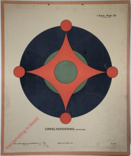 Cirkelversiering (kwartcirkel)