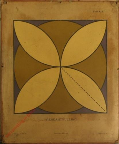 1e druk: No. LIV - Vierkantvulling