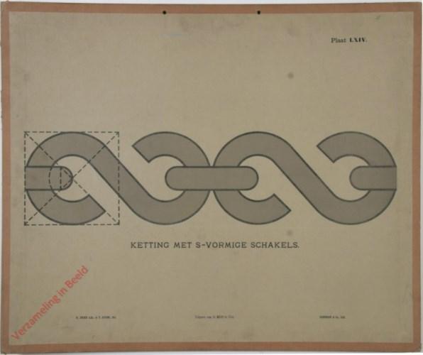 1e druk: No. LXIV - Ketting met S-vormige schakels
