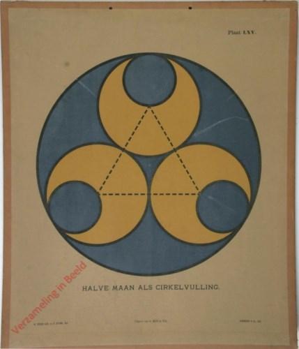 1e druk: No. LXV - Halve maan als cirkelvulling