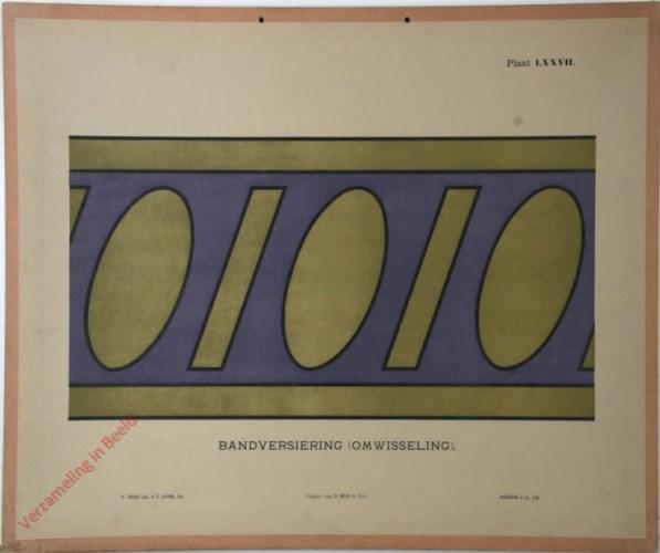 1e druk: No. LXXVII - Bandversiering (omwisseling)