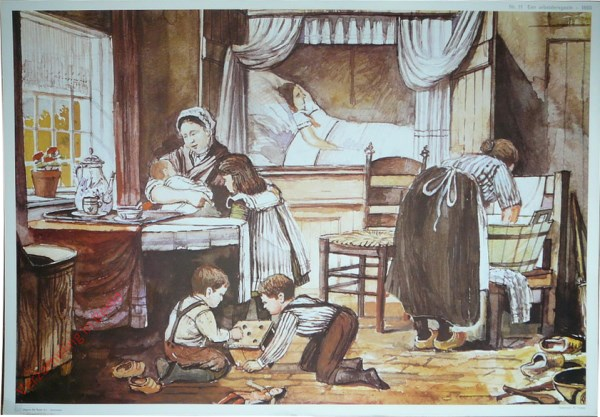 11 - Een arbeidersgezin - 1860