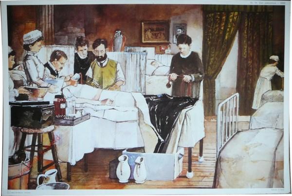 14 - Een ziekenhuis - 1880