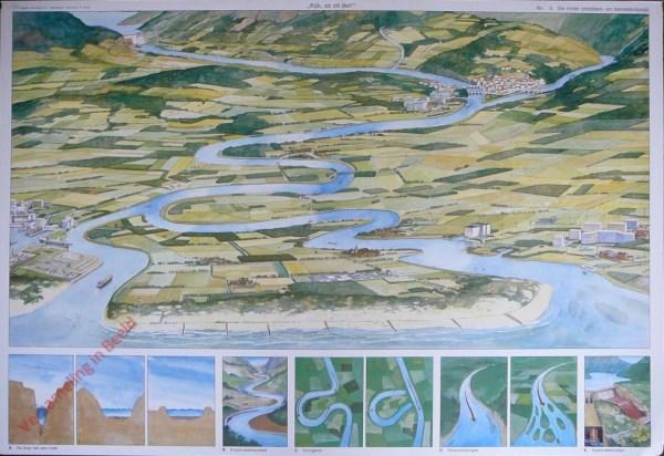 5 - De riivier (midden- en benedenloop)