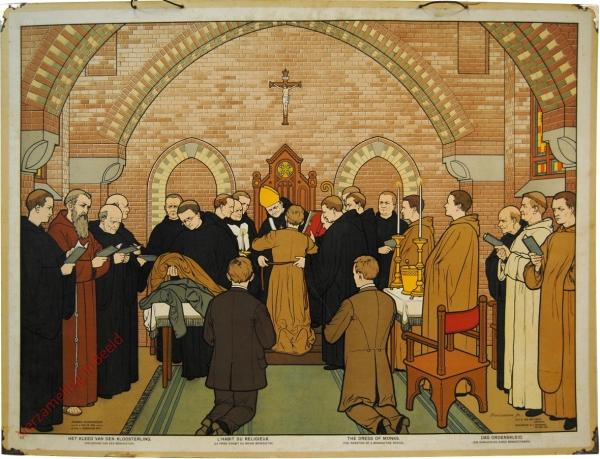 III - Het kleed van den Kloosterling (Inkleeding van een Benediktijn)