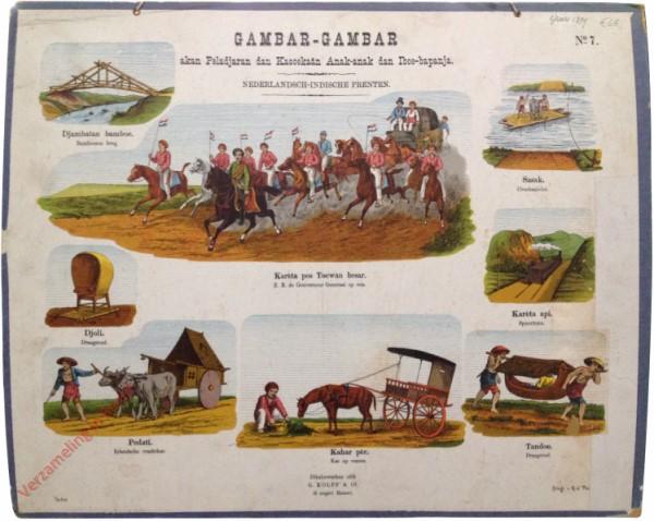 Karèta pos toewan besar - Z.E. de Gouverneur