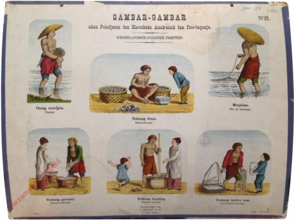 Toekang tiram - Oester verkooper