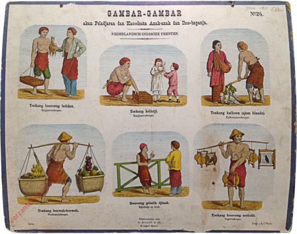 Toekang kelintji - Konijnenverkooper
