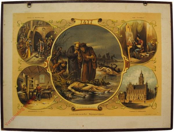 1477. Het lijk van Karel den Stoute