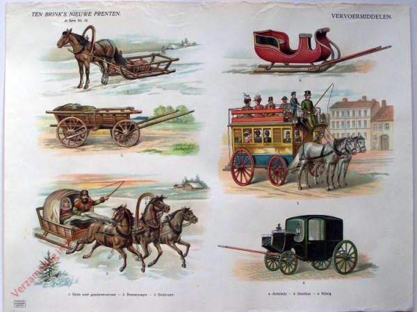 1e serie nr. 14 - Vervoermiddelen