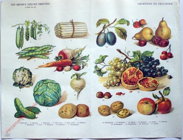 1e serie nr. 20 - Groenten en vruchten