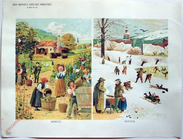 1e serie nr. 22 - Herfst; winter