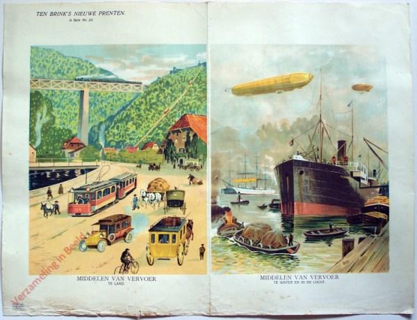 1e serie nr. 23 - Middelen van vervoer