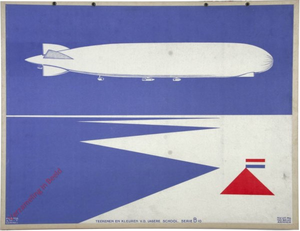 Serie B, No. 10 - [Zeppelin]