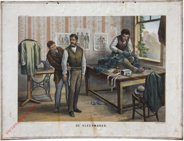 2e serie No. 7 - De Kleermaker [Jas links voor de naaimachine]