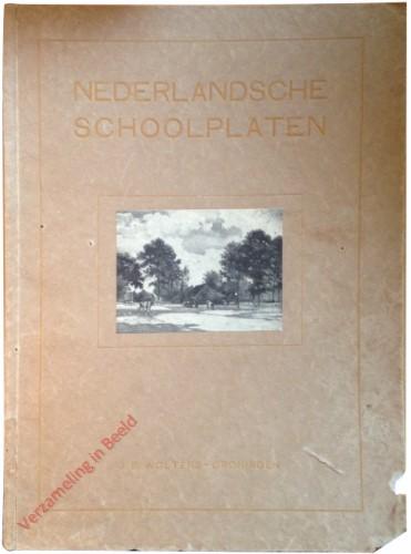 Catalogus - Nederlandsche schoolplaten - 1912