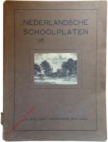 Catalogus - Nederlandsche schoolplaten - 1915