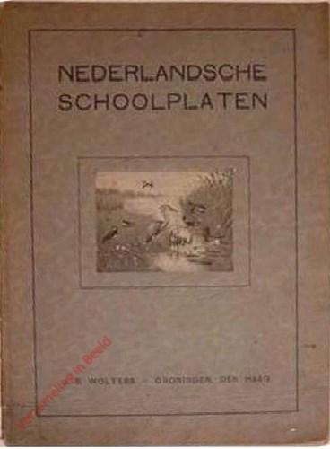 Catalogus - Nederlandsche schoolplaten - 1922