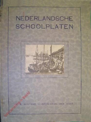 Catalogus - Nederlandsche schoolplaten - 1925