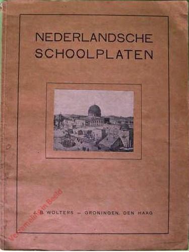 Catalogus - Nederlandsche schoolplaten - 1927