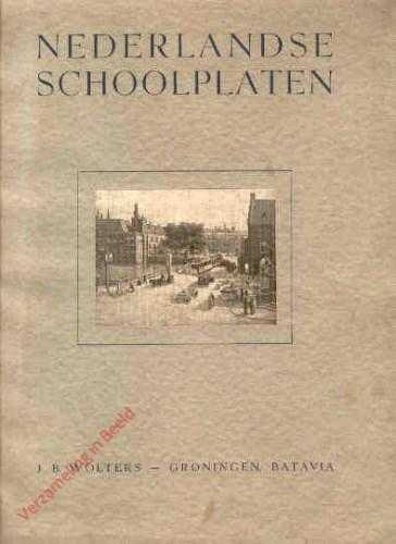 Catalogus - Nederlandsche schoolplaten - 1939