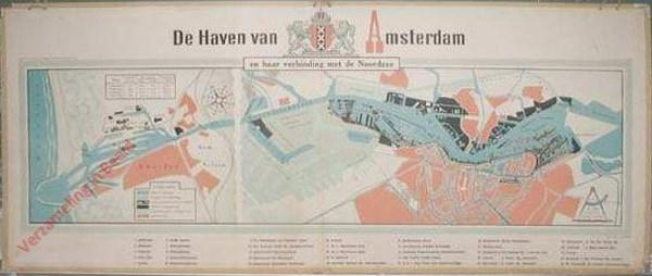 De Haven van Amsterdam, en haar verbinding met de Noordzee