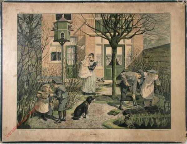 1e serie - Winterhalfjaar - Timmeren - 6 - In de lente