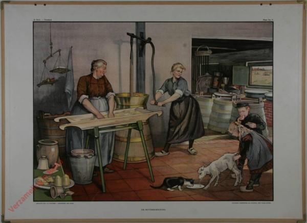 2e Serie - Zomerhalfjaar - Grasland - 5 - De boterbereiding